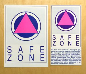 180-Safe Zone Poster Cards