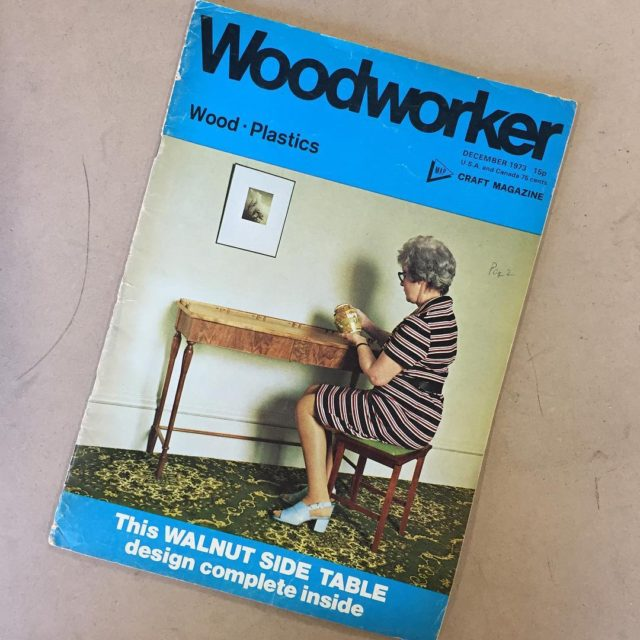things you find on a homosote run woodworker magazine 1973hellip
