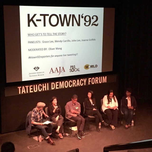 Awesome ktown92doc screening janm ktown92reporters tateuchidemocracyforum anothergracelee